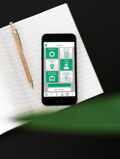 Réalisation d'application mobile pour IOS pour CDE