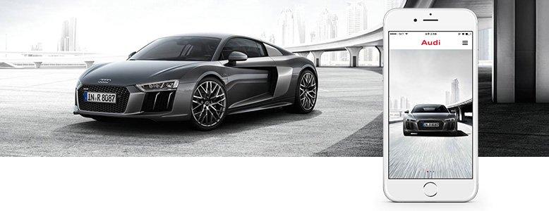 Création d'application mobile et tablettes pour Audi