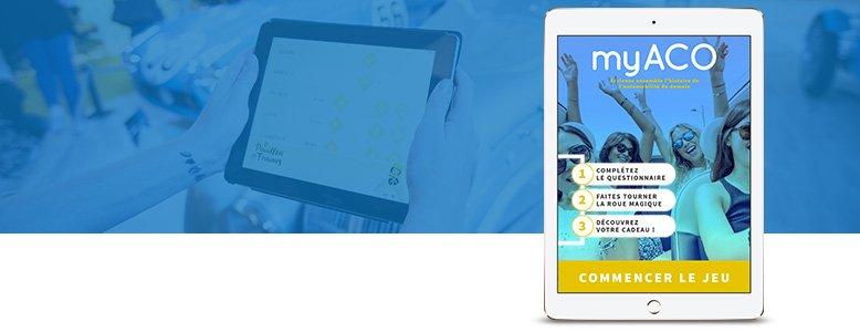Application tablette pour My Aco