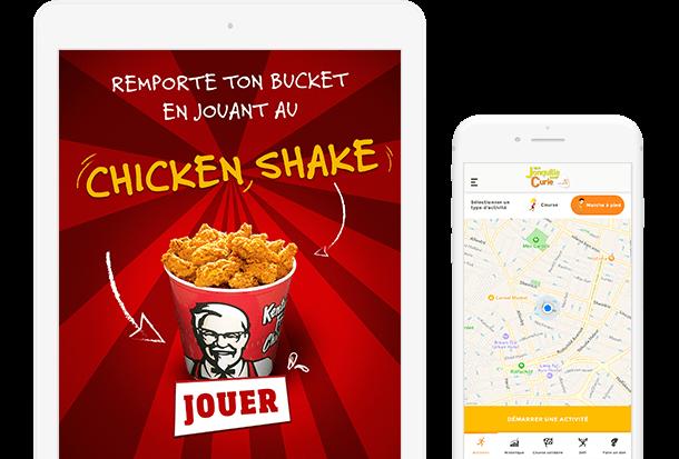 Application sur mesure pour KFC