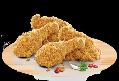 Les poulets KFC