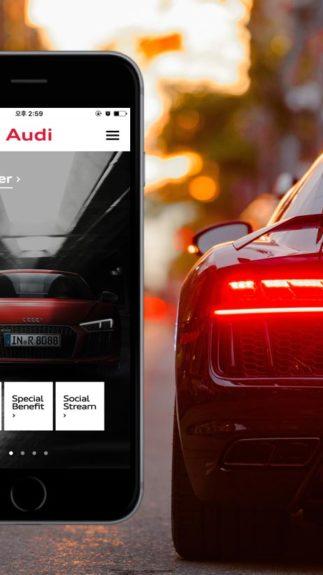 Présentation de l'application Audi R8