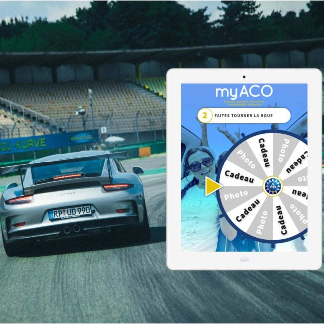 Tablette pour 24h du Mans